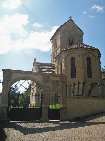 Photo du Monument Historique Eglise de Morlange situé à Fameck