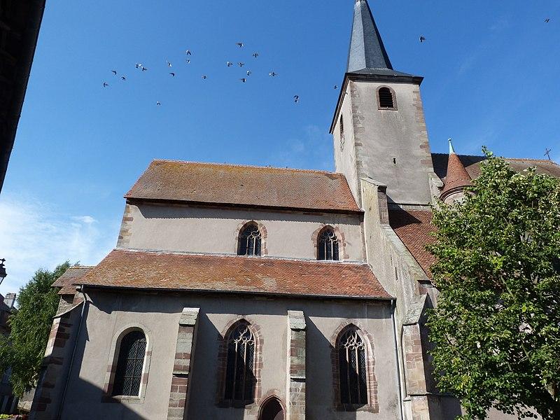 Photo du Monument Historique Eglise Saint-Rémy situé à Fénétrange