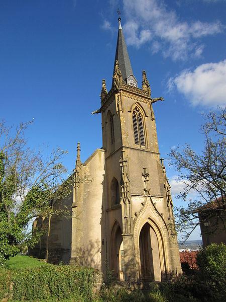 Photo du Monument Historique Eglise catholique situé à Fèves