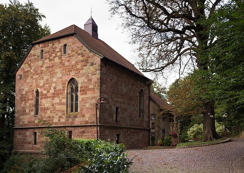 Photo du Monument Historique Chapelle Sainte-Croix situé à Forbach