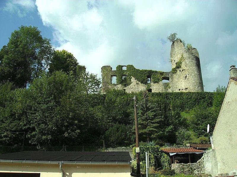 Photo du Monument Historique Château (ruines) situé à Frauenberg