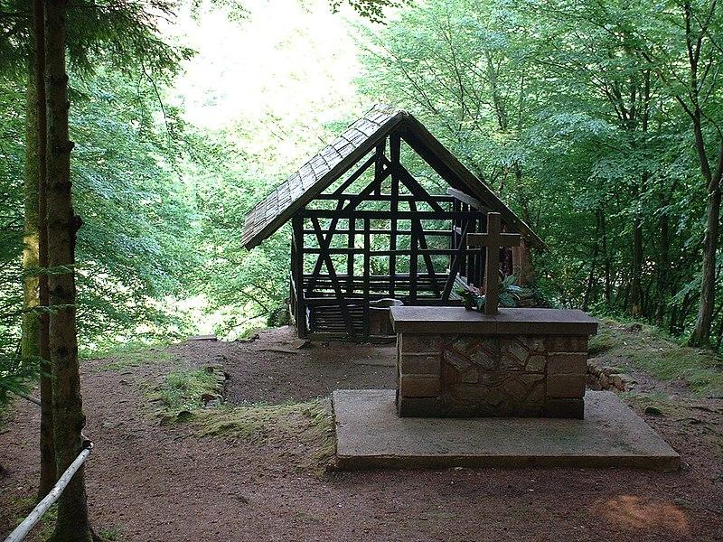 Photo du Monument Historique Chapelle Saint-Fridolin, près de Schacheneck situé à Haselbourg