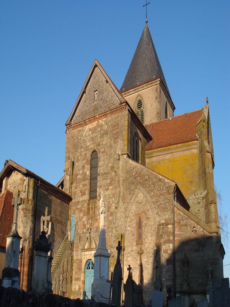 Photo du Monument Historique Abbaye situé à Hesse