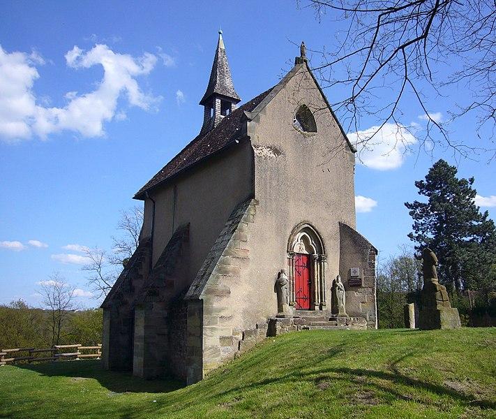 Photo du Monument Historique Chapelle Sainte-Catherine situé à Hombourg-Haut