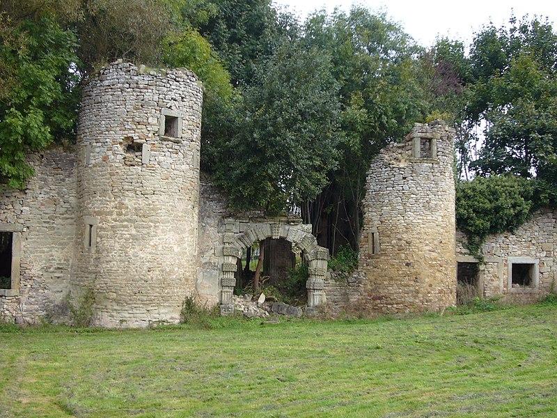 Photo du Monument Historique Château et fortifications situé à Hombourg-Haut