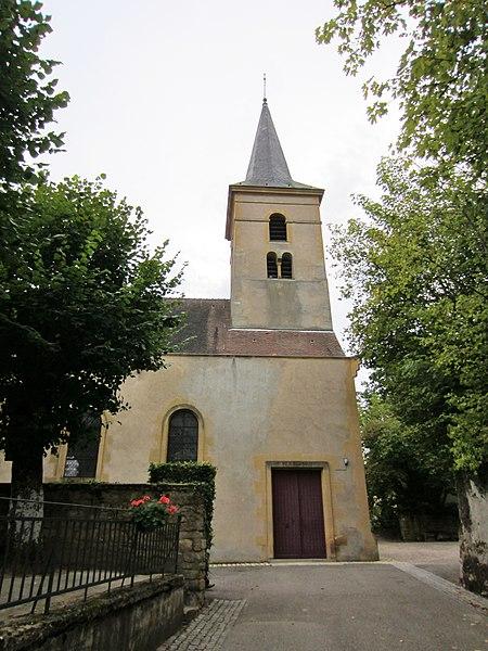 Photo du Monument Historique Eglise Saint-Hilaire situé à Jussy