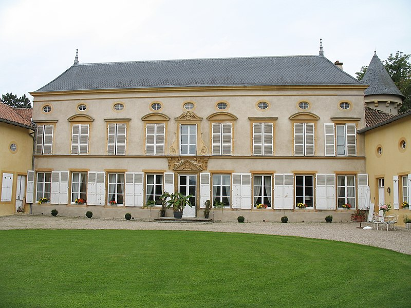 Photo du Monument Historique Château de Mardigny situé à Lorry-Mardigny