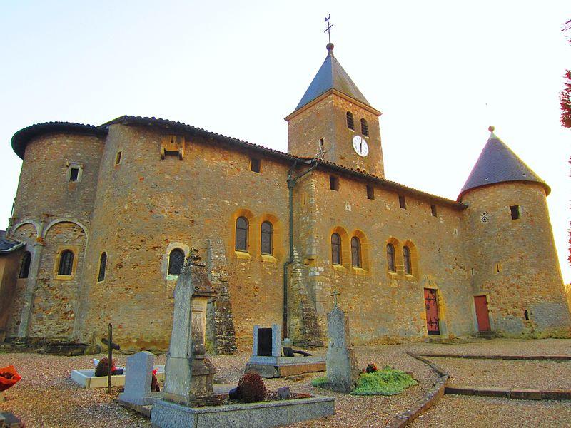 Photo du Monument Historique Eglise situé à Lorry-Mardigny