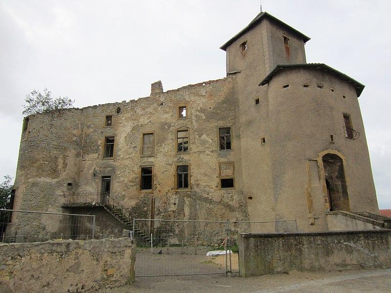 Photo du Monument Historique Château situé à Luttange