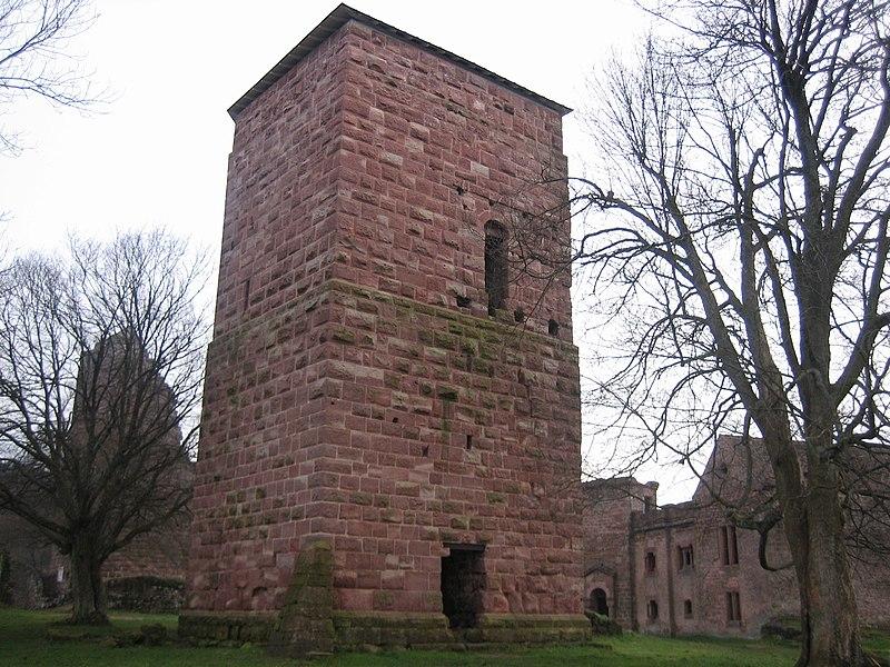 Photo du Monument Historique Ruines du château situé à Lutzelbourg