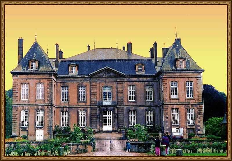 Photo du Monument Historique Château de la Grange situé à Manom