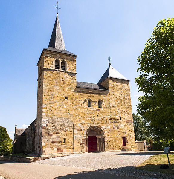 Photo du Monument Historique Eglise Saint-Léger situé à Marsal