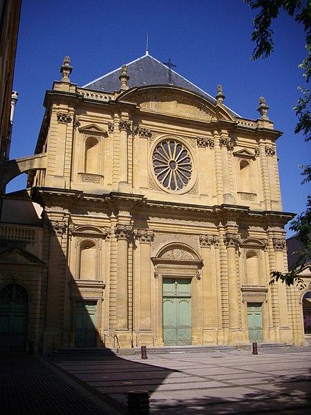 Photo du Monument Historique Abbaye Saint-Clément situé à Metz