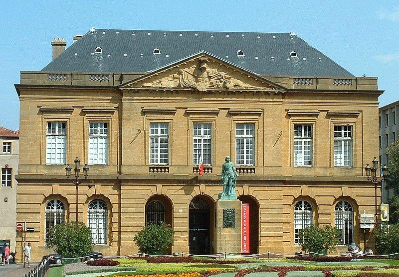 Photo du Monument Historique Bâtiment militaire situé à Metz