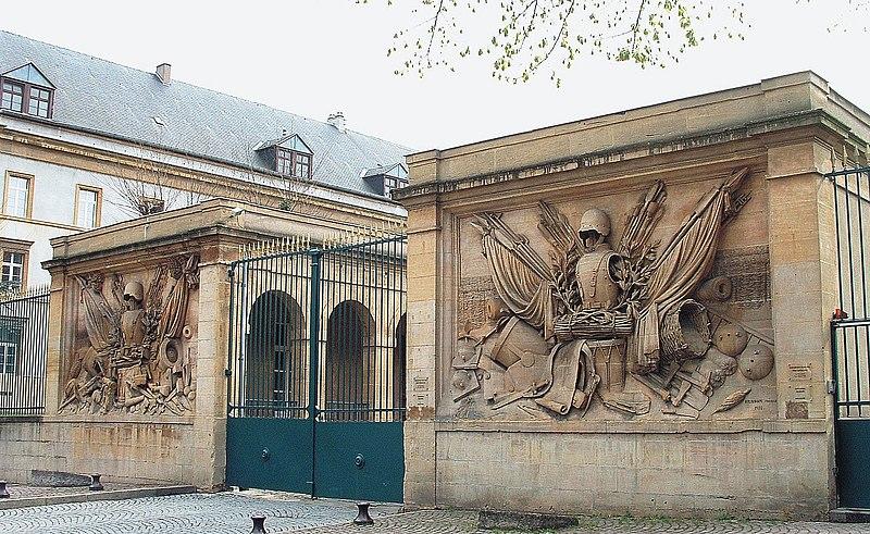 Photo du Monument Historique Caserne Ney ou caserne du Génie situé à Metz
