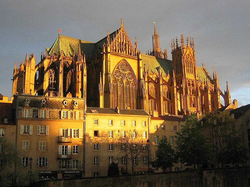Photo du Monument Historique Cathédrale Saint-Etienne situé à Metz
