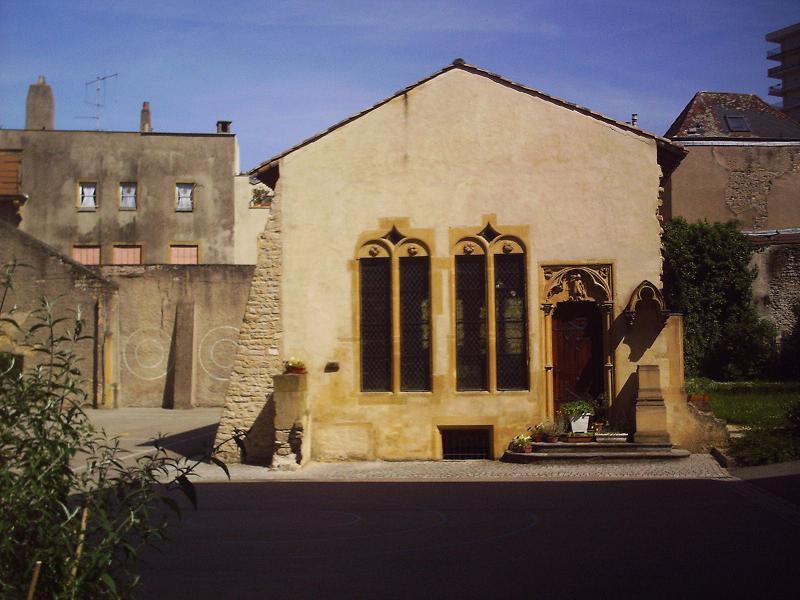 Photo du Monument Historique Chapelle de la Miséricorde situé à Metz