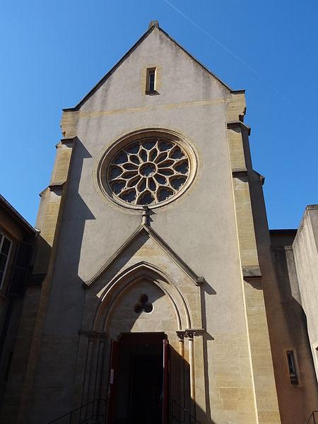 Photo du Monument Historique Couvent des Carmélites situé à Metz
