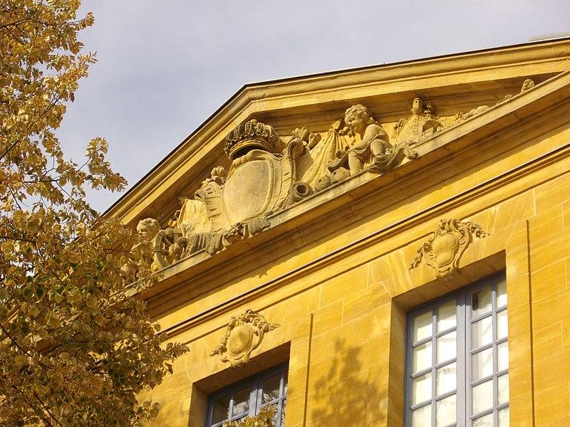Photo du Monument Historique Ancienne école royale d'artillerie situé à Metz