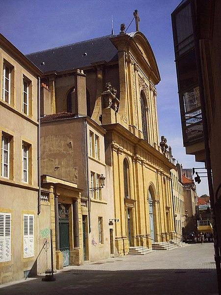 Photo du Monument Historique Eglise Notre-Dame situé à Metz