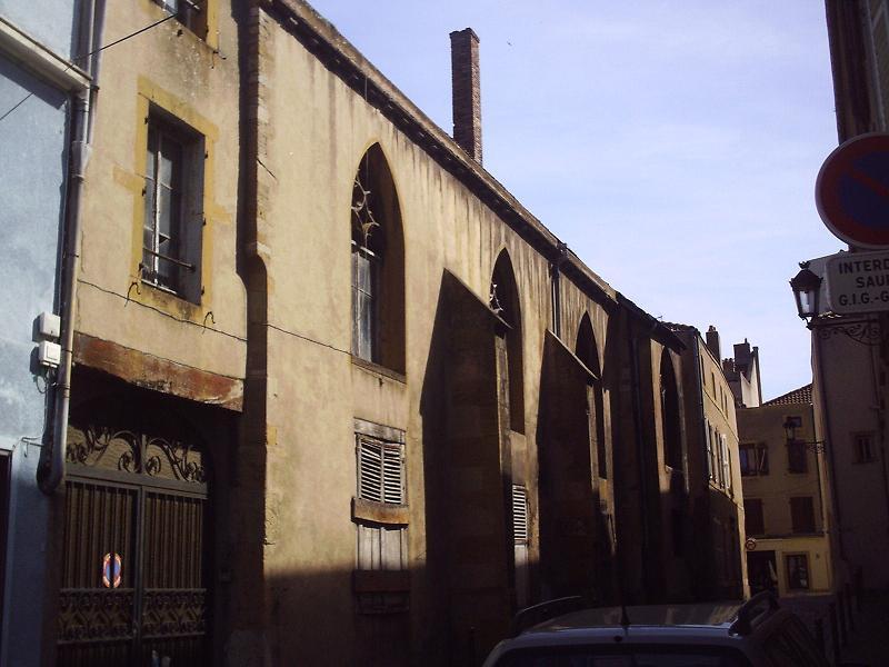 Photo du Monument Historique Ancienne église Saint-Etienne-le-Dépensié ou Dépenné situé à Metz