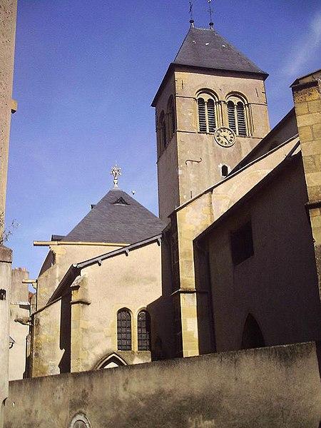 Photo du Monument Historique Eglise Saint-Eucaire situé à Metz