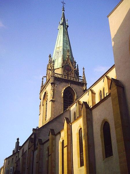 Photo du Monument Historique Eglise Saint-Martin situé à Metz