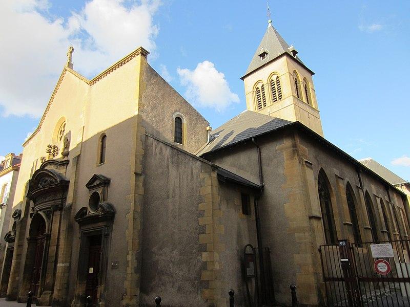 Photo du Monument Historique Eglise Saint-Maximin situé à Metz