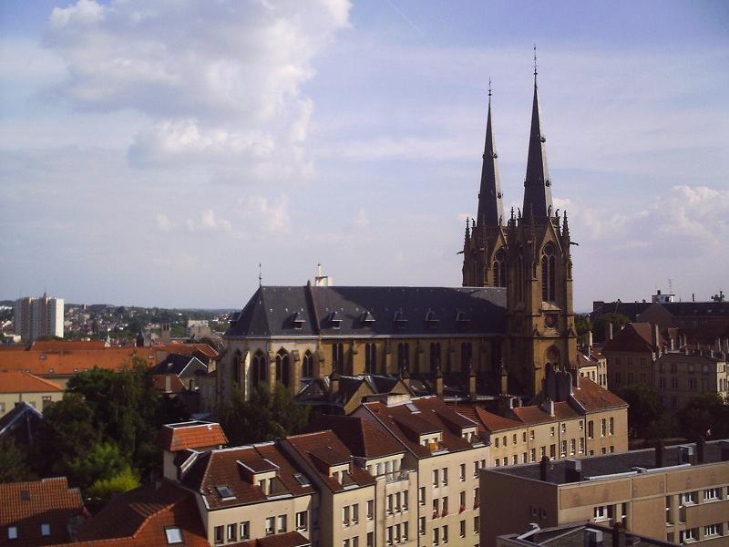 Photo du Monument Historique Eglise Sainte-Ségolène situé à Metz
