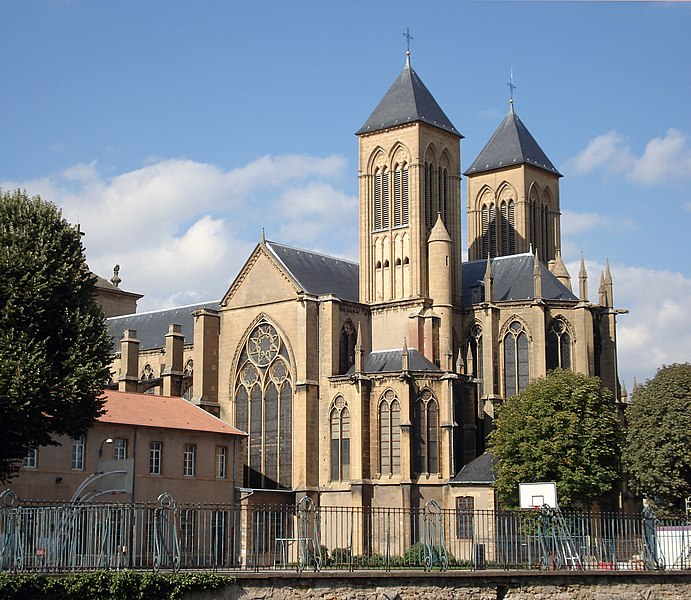 Photo du Monument Historique Eglise Saint-Vincent situé à Metz