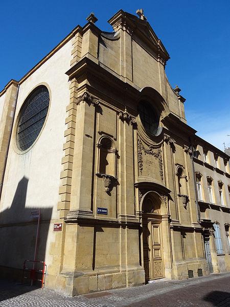 Photo du Monument Historique Eglise des Trinitaires situé à Metz