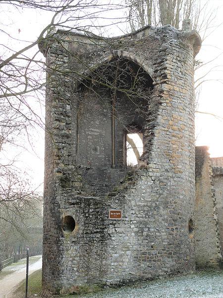 Photo du Monument Historique Vestiges de l'enceinte du Moyen-Age situé à Metz