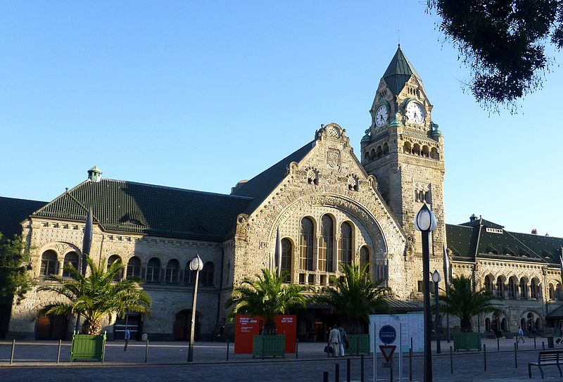 Photo du Monument Historique Gare situé à Metz