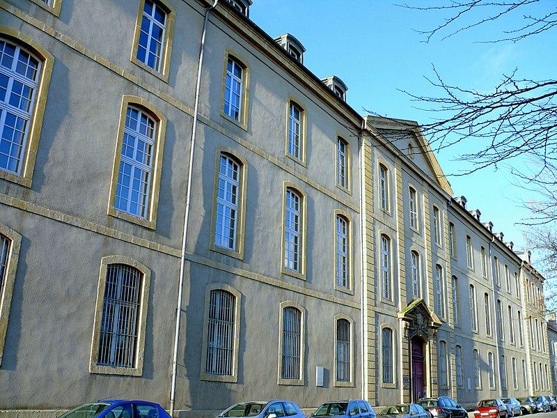 Photo du Monument Historique Hôpital militaire  situé dans le Fort Moselle situé à Metz