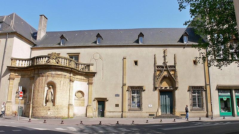 Photo du Monument Historique Ancien hospice Saint-Nicolas situé à Metz