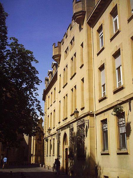 Photo du Monument Historique Hôtel de la Bulette situé à Metz