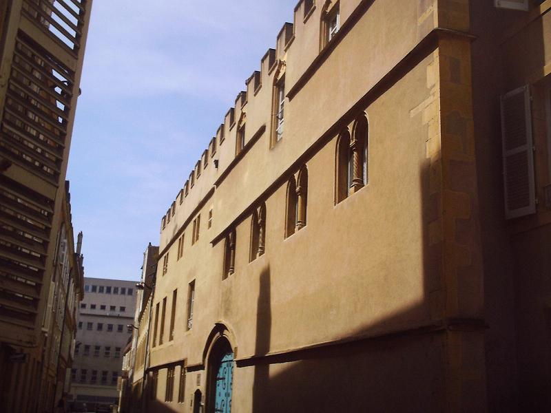 Photo du Monument Historique Hôtel de Gargan situé à Metz