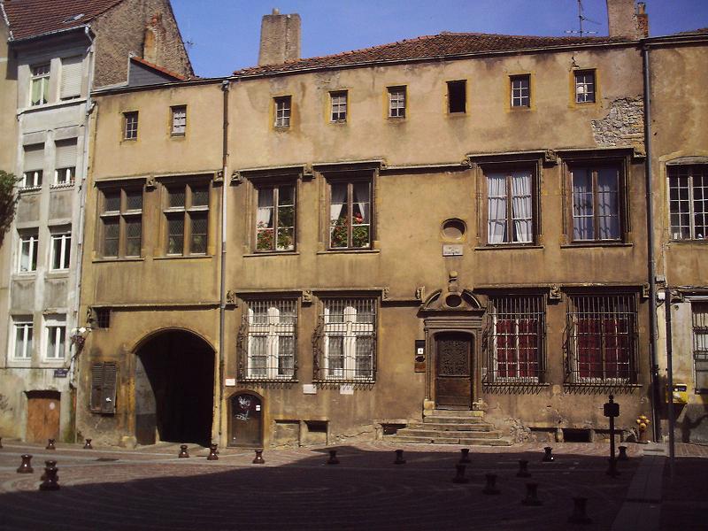 Photo du Monument Historique Hôtel dit de Gournay-Burtaigne situé à Metz