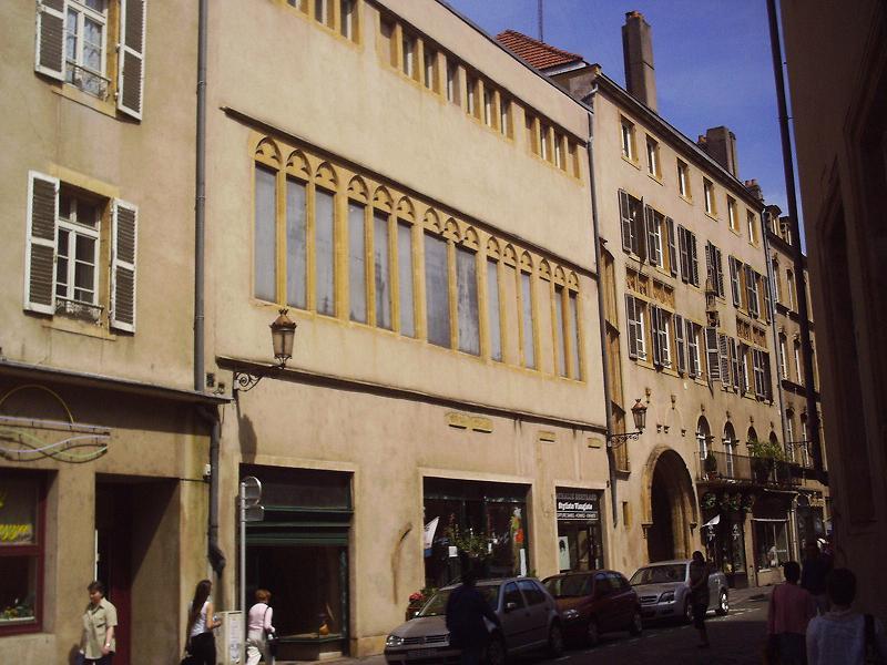 Photo du Monument Historique Hôtel de Heu situé à Metz