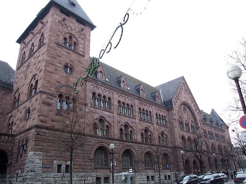 Photo du Monument Historique Hôtel des Postes situé à Metz