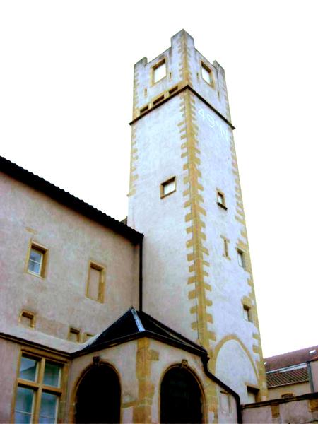 Photo du Monument Historique Ancien hôtel Saint-Livier situé à Metz