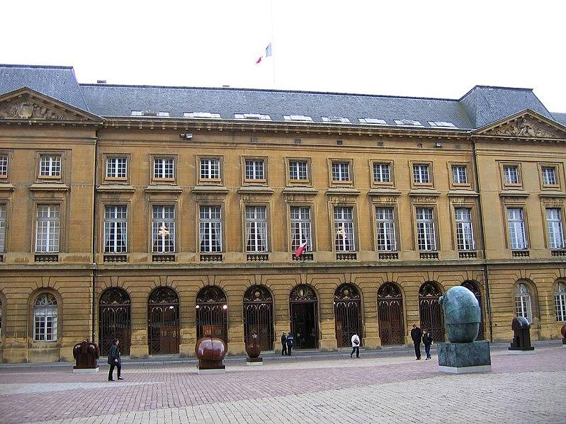Photo du Monument Historique Hôtel de ville situé à Metz