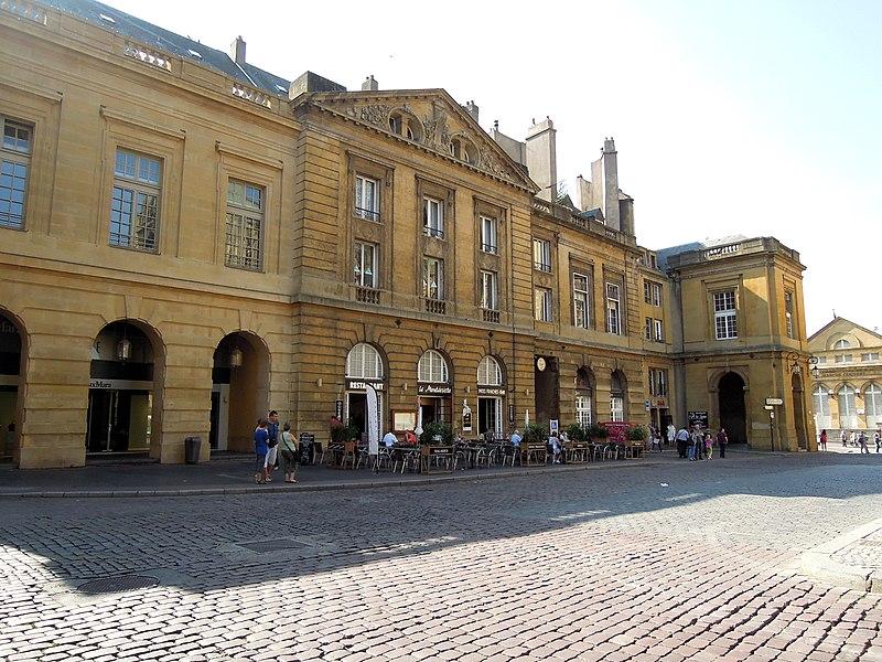 Photo du Monument Historique Immeuble (ancien Parlement) situé à Metz
