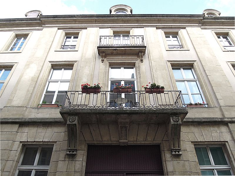 Photo du Monument Historique Immeubles situé à Metz