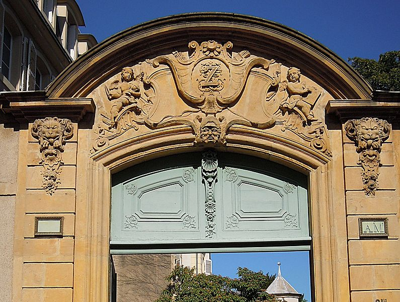 Photo du Monument Historique Maison situé à Metz
