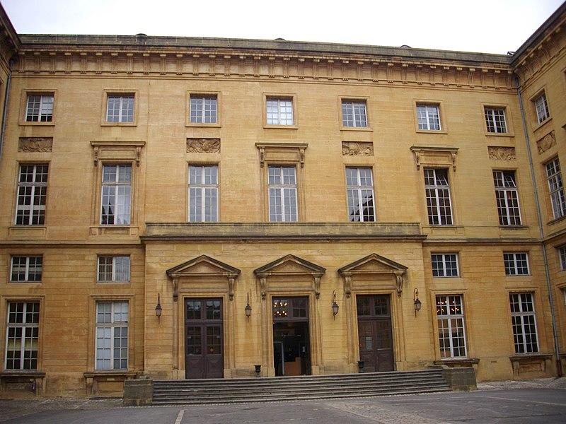 Photo du Monument Historique Palais de Justice situé à Metz