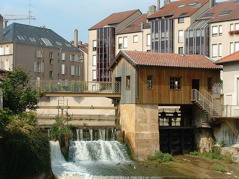 Photo du Monument Historique Pont des Thermes situé à Metz