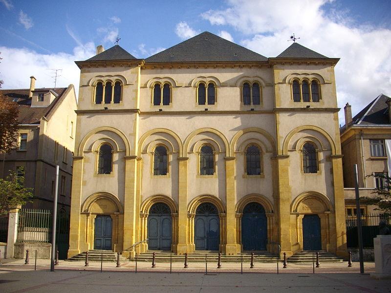 Photo du Monument Historique Synagogue situé à Metz