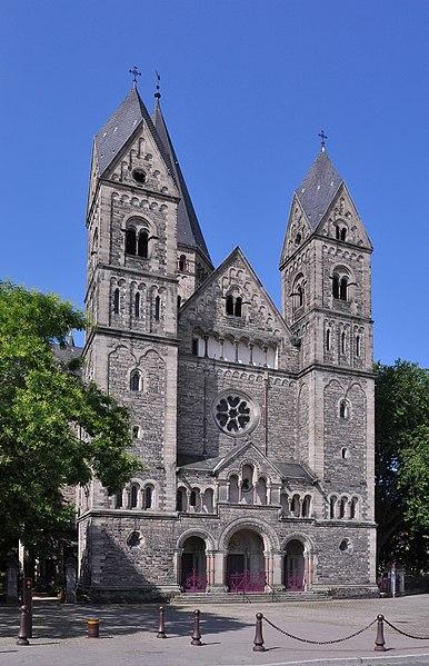 Photo du Monument Historique Temple protestant situé à Metz