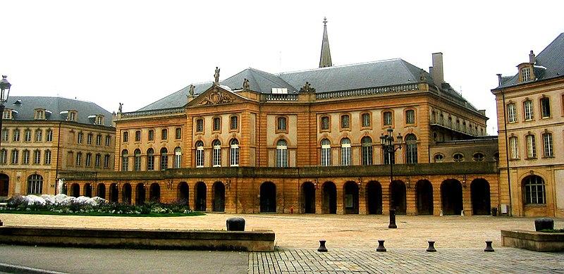 Photo du Monument Historique Théâtre municipal situé à Metz